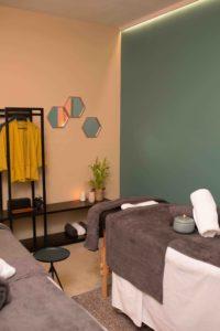 Professional massage room